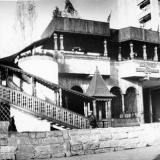 """Краснодар. Кафе """"Три тополя"""" на улице Тургенева, 1988 год"""