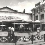 """Краснодар. Кафе """"Ритм"""", бывшее кафе  """"Холодок"""", 1990 год"""