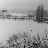 Краснодар. Карасун зимний, зима 1985/1986 гг.