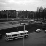 Краснодар. Кольцо на пересечении улиц Карла Либкнехта и Старо-кубанской, 1975 год