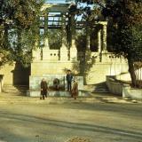 Краснодар. Колоннада в горпарке, 1982 год.