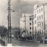 Краснодар. Коммунаров, между ул. Орджоникидзе и Ленина, вид на северо-восток, 1955 год