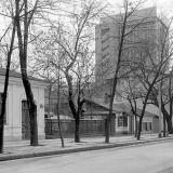 Краснодар. Красная 142 и 140. Вид на юг. 05.12.1981 года