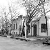 Краснодар. Красная 146 и 144. Вид на север. 05.12.1981 года