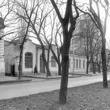 Краснодар. Красная 146 и 144. Вид на юг. 05.12.1981 года