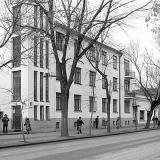 Краснодар. Красная, 93. Вид от улицы Пашковской. 05.12.1981 г.
