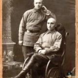 Краснодар. Красноармейцы 66 стрелкового полка.