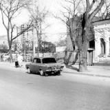 Краснодар. Красноармейская 34. Вид на перекрёсток улиц Красноармейской и Орджоникидзе, вид на северо восток.