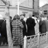 Краснодар. Крестный ход около Ильинской церкви, 1987 год