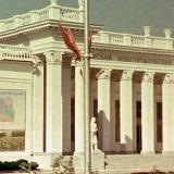 Краснодар. КСХПВ. Павильон Усть-Лабинского и Ново-Титоровского районов, 1956 год