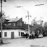 Краснодар. На перекрёстке улиц Шаумяна и Клары Цеткин, январь 1967 год. Фото 2