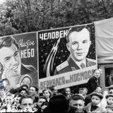 Краснодар. На Первомайской демонстрации 1961 года