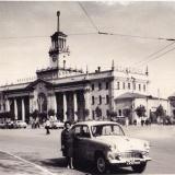 Краснодар. На привокзальной площади, конец 1960-х