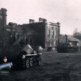 Краснодар. На привокзальной площади ж/д вокзала Краснодар-1, август 1942 года.