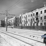 Краснодар. На улице Карла Либкнехта, зима 1956-57 годов