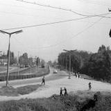 Краснодар. На улице Карла Либкнехта у паркя 40-летия Октября.