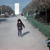 Краснодар. Перекресток ул. Красной и Бабушкина, вид на север. 1976-1978гг.
