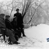 Краснодар. Студенты КСХИ на улице Красной.