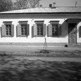 Краснодар. На улице Октябрьской, № 18. у перекрёстка c Пушкина, вид на восток. 1977 год.