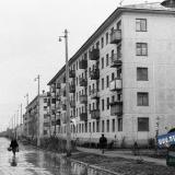 Краснодар. 1964 год. Строительство в в Фестивальном микрорайоне