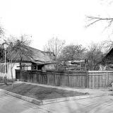 Краснодар. На улице Тельмана. № 7. Вид от переулка. 12.02.1983 г.