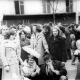 Краснодар. Ноябрьская демонстрация, 1977 год