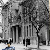 Краснодар. Ноябрьские прадники 1959 года, у гарнизонного Дома Офицеров