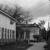 Краснодар. Перекресток улиц Мира и Октябрьской, вид на юг.