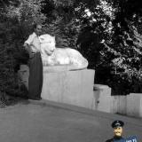 Краснодар. Октябрьским днём в Парке Горького, 1952 год