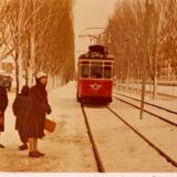 """Краснодар. Остановка трамвая """"Артельная"""", 1963 год."""