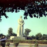 """Краснодар. Памятник """"Человек-созидатель"""". 1980 год"""