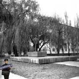 Краснодар. Памятник Георгию Димитрову. 1980 год