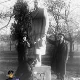 Краснодар. Памятник М. Горькому в городском парке им. М. Горького