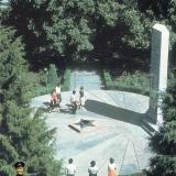 Краснодар. Обелиск воинам-рабочим ЗИП, погибшим на фронтах ВОв, 1983 год