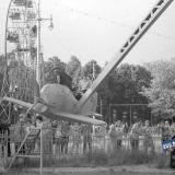 Краснодар. Парк Горького. Аттракционы. 1969 год.