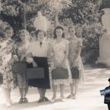 Краснодар. В горпрке у памятника М.Горькому, сентябрь 1954 года