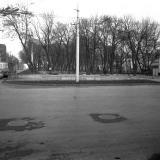 Краснодар. Перекресток Красной и Северной. Вид на север. 1979 год.