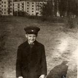 Краснодар. Перекресток ул. Красной и Офицерскской, вид на север, 1963 год