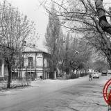 Краснодар. Перекресток ул. Октябрьской и Мира, вид на север. Середина 1970-х