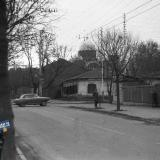 Краснодар. Перекресток ул. Седина и Ленина, вид на юг, около 1979 года