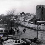 Краснодар. Перекресток улиц Красноармейской и Дружбы, вид на юг. 1966 год