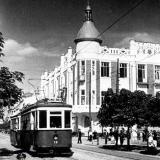 Краснодар. Перекрёсток улиц Красной и Гимназической. 1941 г.