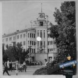Краснодар. Перекрёсток улиц Красной и Мира. Лето 1964 года.
