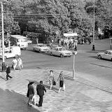 Краснодар. Перекрёсток улиц Красной и Ворошилова, 11 мая 1978 год.