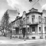 Краснодар. Перекрёсток улиц Седина и Ворошилова. Роддом № 1. 1987 год.