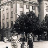 Краснодар. Перекресток ул. Красной и Ленина, июль 1965 года