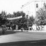 Краснодар. Пересечение улиц Красной и Мира. Вид на север, начало 1960-х годов