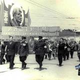 Краснодар. Первомайская демонстрация, 1953 год