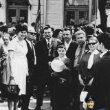 Краснодар. Первомайская демонстрация 1967 год.