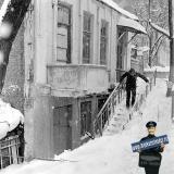 Краснодар. Первый день весны на улице Советской. 1 марта 1986 года.